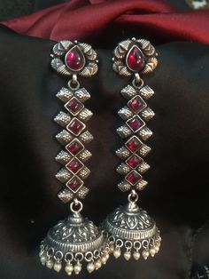Antique Silver jewelry Jewellery - - Silver jewelry Hand Made Simple - - Silver jewelry Earrings Simple Silver Jewelry Box, Silver Jewellery Indian, Silver Accessories, Silver Earrings, Silver Ring, Antique Jewellery, Silver Bracelets, Diamond Jewelry, 925 Silver
