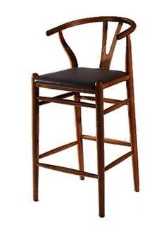 Fine Mod Imports Woodstring Bar Stool Chair