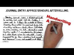 Jodi Arias Handwriting Analysis Excerpt by Deborah Dolen Video