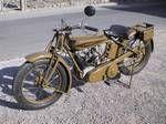 Oldtimer-Motorräder und Motoren