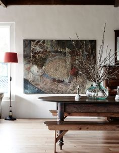 Anna and Andrew Swain house. Credit: The Design Files Hallway Decorating, Interior Decorating, Interior Design, Interior Colors, Turbulence Deco, Piece A Vivre, The Design Files, Australian Homes, Timber Flooring