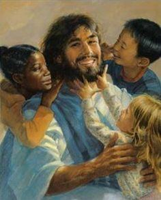 Jesus and the children <3