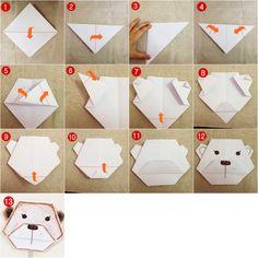 Origami: Hayvan Yüzleri malzemeleri burada! Hobinizi kolay ve eğlenceli yolla öğretecek nasıl yapılır makale ve videoları Hobium'da!