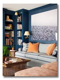 How to style a Bookshelf {6 lessons in design for creating a stunning bookshelf in your home}