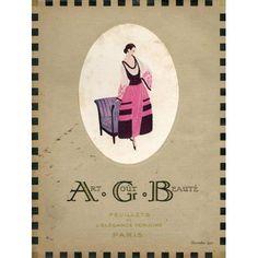 Art Gout Beaute 1920年代フランス・ファッション雑誌「アール・グー・ボーテ」 #BOOK