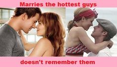 I could NEVER forget Ryan Gosling... Or Channing Tatum..