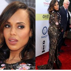 NAACP image Awards: @kerrywashington of course! Never disappointing and forever slaying #fashion #fashionblog #fashionblogger #naacp #redcarpet #style #styleblog #styleblogger #stylegram http://ift.tt/2lCUyT6