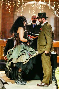 Manchester Steampunk Wedding