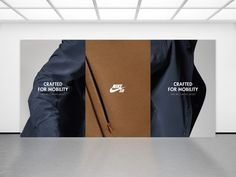 Creative fashion images on Designspiration Collateral Design, Identity Design, Logo Design, Graphic Design, Creative Advertising, Advertising Design, Nike Sb, Hoarding Design, Fashion Marketing