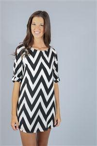 Dress Up Boutique chevron dress