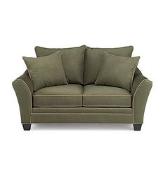 HM Richards Franklin Pine Loveseat | Bon-Ton