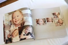 love this style of digital photobook. so clean and simple.