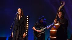Rhiannon Giddens performs live at the CCA for BBC Music at Celtic Connections