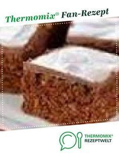 Weihnachtliche Gewürzschnitten Christmas spice slices from Thermomix-graz. A Thermomix ® recipe from the category baking sweet on www.de, the Thermomix ® Community. Cheesecake Recipes, Cupcake Recipes, Baking Recipes, Dessert Recipes, Cupcakes, Short Pastry, Thermomix Desserts, Homemade Applesauce, Baking Muffins