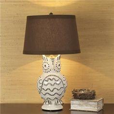 Lovely owl lamp