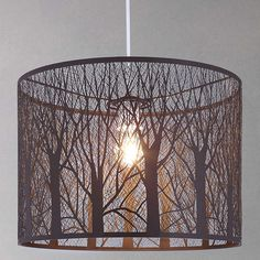 Devon Easy-to-fit Ceiling Shade, Large | Ceiling shades, John ...
