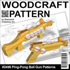 Sherwood Creations: Ping Pong Gun Patterns