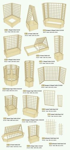 A trellis might be just what you need for patio privacy or a garden space saver. Several good options here. via Allison Evans (Diy Garden Trellis) Diy Garden, Garden Projects, Garden Boxes, Herbs Garden, Garden Guide, Garden Planters, Wooden Garden, Fruit Garden, Indoor Garden