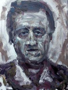 B #art #paintings #faces #portraits #oil #fineart #molos #morina