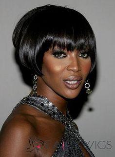 Dainty Short Straight Black African American Wigs for Women Buy Wigs, Black Wig, Black African American, Short Wigs, African American Hairstyles, Womens Wigs, Wigs For Black Women, Fine Hair, Hair Pieces