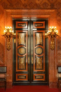 Door, Town Hall, Hamburg, Architecture, Building