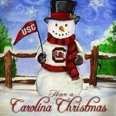 A Carolina Christmas! | University Of South Carolina Gamecocks ...