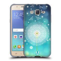 Silikonové pouzdro na mobil Samsung Galaxy J5 HEAD CASE Rozlétaná pampeliška