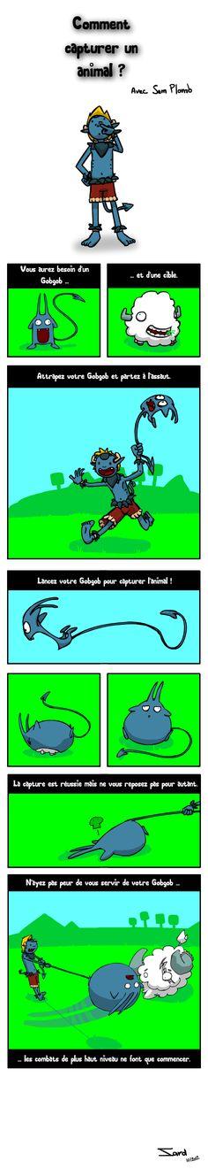 Strip Osamodas by Sam Plomb.