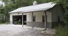 Morton Buildings garage in Marysville, Ohio.