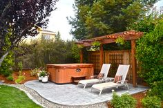Traditional Patio Hot Tub Design, Pictures, Remodel, Decor and Ideas - page 44