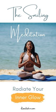 The Smiling Meditation boosts your mood instantly and leaves you glowing with positive energy. This guided meditation is my adaptation of the Inner Smile meditation from the Qi Gong tradition. It uses the naturally mood-lifting benefits of your smile, combined with visualization of your life energy infusing every cell of your being with light, to radiate health and vitality through your whole self. Feel vibrant, uplifted, and powerfully centered in just ten minutes. Meditation For Stress, Meditation For Beginners, Meditation Quotes, Guided Meditation, Wellness Tips, Health And Wellness, Mental Health, Health Fitness, Yoga Nidra