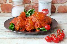Kurczak w sosie pomidorowym Tandoori Chicken, Ethnic Recipes, Food, Essen, Meals, Yemek, Eten
