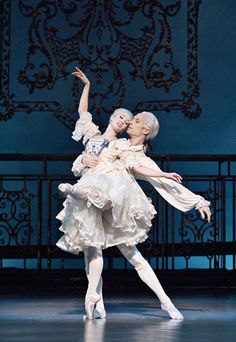 """From Stanton Welch's """"Marie"""", a ballet about Marie Antoinette. I would love to see this someday!"""