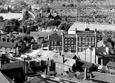 old Molineux Hotel looking over a very different Whitmore Reans