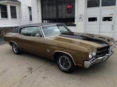 1970 Chevrolet Chevelle SS, 396/350hp, #'s Match, TH400