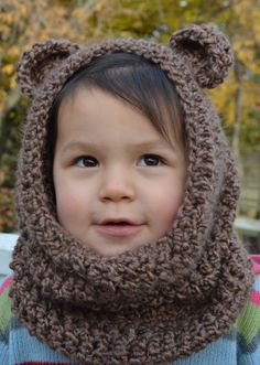 Teddy bear hood, I don't care how childish this is but I would totally wear it! How do I make one!