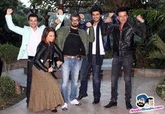 Tevar Press Conference -- Manoj Bajpai, Sonakshi Sinha, Arjun Kapoor and Sanjay Kapoor Picture # 292912