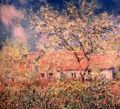 Claude Monet, Springtime At Giverny (1886). on ArtStack #claude-monet #art