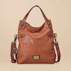 FOSSIL® Handbag Silhouettes Tote:Handbag Silhouettes Tessa Foldover Tote ZB5289