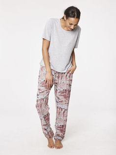 These pajamas are so cozy, we won't blame you for wearing them all day.