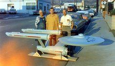 The USS Enterprise Pilot model - 1966.