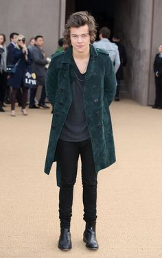Harry Styles - Burberry