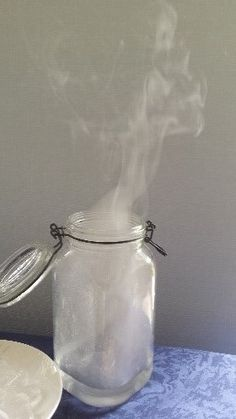 Maak zelf een wolk in een pot!