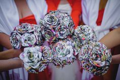 Matt Shumate Photography at the Davenport Hotel wedding unique flower bouquets made out of comic books Geek Wedding, Hotel Wedding, Wedding Shoot, Party Wedding, Unique Weddings, Wedding Unique, Wedding Ideas, Cheap Presents, Comic Book Wedding