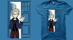 The greeting of the Doctor if you like, please vote and maybe you will have him on your shirt! And Thanks! *^*