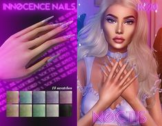 Sims 4 Mods Clothes, Sims 4 Clothing, Sims Mods, Sims 4 Nails, Cc Nails, Sims 4 Teen, Sims 4 Mm, Sims 4 Children, Sims 4 Collections