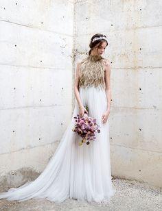 Santos Costura Wedding Dress