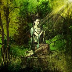 Loving VII Green Taara ... journey to the forest and reuniting with you beloved