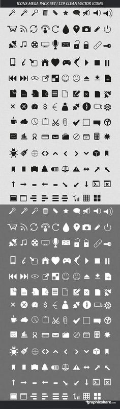 Simple Icons Mega Pack 1