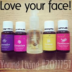 "The best skin-care you'll ever need. Argan oil has a comedogenic rating of ""0"" which won't clog pores and cause break-outs. The these Young Living essential oils, along with carrot seed (SPF of 30-50) and ylang ylang essential oils are some of these best for the face, preventing aging, minimzing scars, and improving hydration and elasticity - all super important as we get older. Love your face and will love you back!"